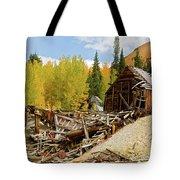 Mining Ruins Tote Bag