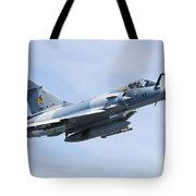 Mirage 2000c Of The French Air Force Tote Bag