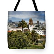 Mission Dolores Park Tote Bag