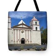 Mission Santa Barbara Tote Bag