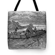 Mississippi: Flatboat Tote Bag