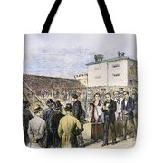 Molly Maguires Executions Tote Bag