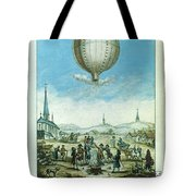 Montgolfier Balloon Tote Bag