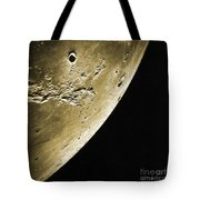 Moon, Apollo 16 Mission Tote Bag by Science Source
