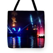 Mother Earth Rising Tote Bag