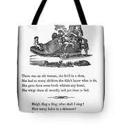 Mother Goose, 1833 Tote Bag