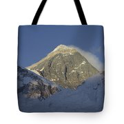 Mount Everest Standing At 29,028 Feet Tote Bag