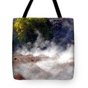 Mountain Hot Springs Tote Bag