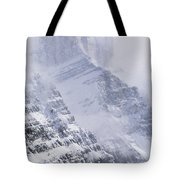 Mt. Chephren, Banff National Park Tote Bag
