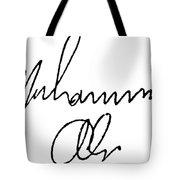Muhammed Ali (b. 1942) Tote Bag