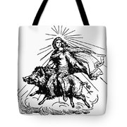 Mythology: Frigg (freyja) Tote Bag