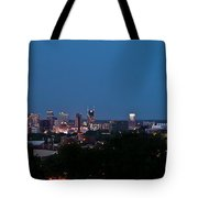 Nashville By Night 1 Tote Bag