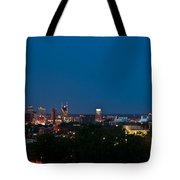 Nashville By Night 3 Tote Bag