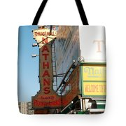 Nathan's Famous At Coney Island  Tote Bag