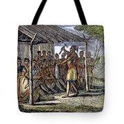 Native American Council, C1835 Tote Bag