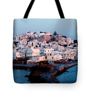 Naxos Island Greece Tote Bag