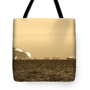 Needles On The Isle Of Wight As Viewed From Mudeford Tote Bag