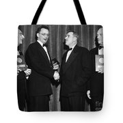 Nelson Algren (1909-1981) Tote Bag by Granger