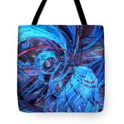 Neon Abstract Fx  Tote Bag