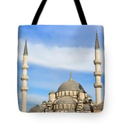 New Mosque In Istanbul Tote Bag