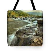 New River Waterfall Tote Bag