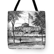New York: Castle Garden Tote Bag