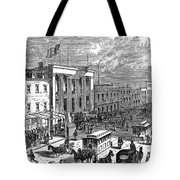 New York: The Bowery, 1871 Tote Bag