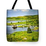 Newfoundland Landscape Tote Bag
