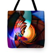 Night In Town Tote Bag
