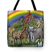 Noah's Ark Tote Bag by Kevin Middleton
