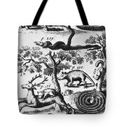 North America: Fauna Tote Bag