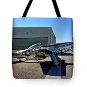 North American P-51 Mustang  Tote Bag