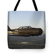 North American T-6 Texan Trainer Tote Bag