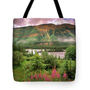 North Saskatchewan River Tote Bag