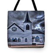 Norwegian Church Cardiff Bay Tote Bag