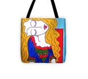 Not Picasso's Girl Tote Bag