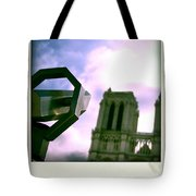 Notre Dame De Paris. France Tote Bag
