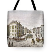 Occupied New York, 1776 Tote Bag