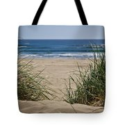 Ocean View With Sand Tote Bag