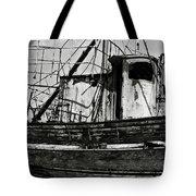 Old Abandoned Ship Tote Bag