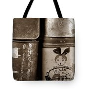 Old Fashioned Iron Boxes. Tote Bag