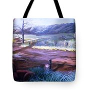 Old Homested Tote Bag