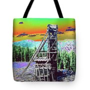 Old Mining Structure Tote Bag