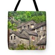 Old Rustic Village Tote Bag