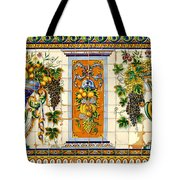 Old Spanish Tiles Tote Bag