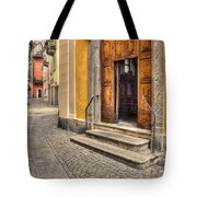 Old Stone Alley Tote Bag