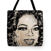 Oprah Winfrey In 2007 Tote Bag