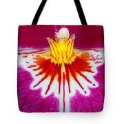 Orchid Closeup Tote Bag