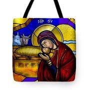 Orthodox Christmas Card Tote Bag