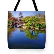 Osaka Japanese Garden Tote Bag by Jonah  Anderson